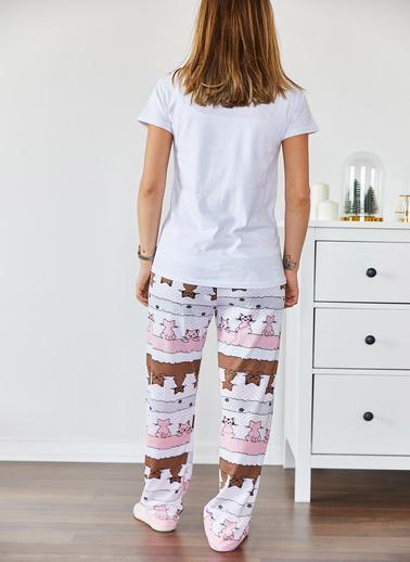 XHAN Pijama Takım Pudra